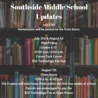 Southside Middle School Updates