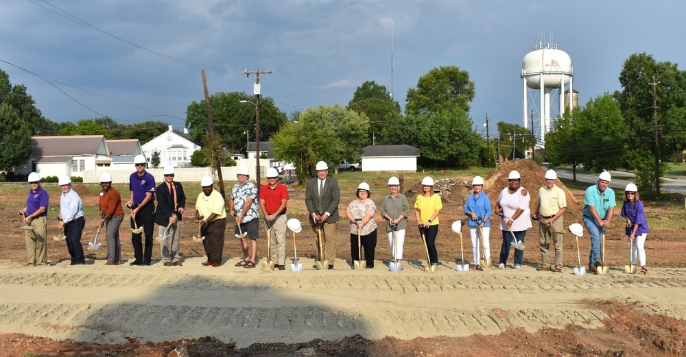 Tallassee City Board of Education holds Ground Breaking Ceremony