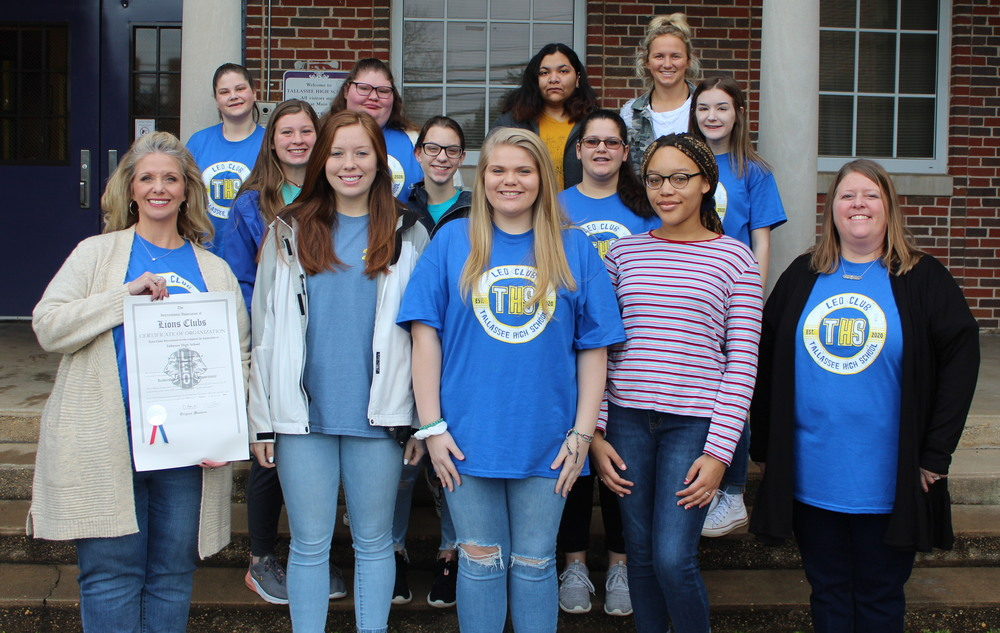 Charter Members of the THS Leo Club