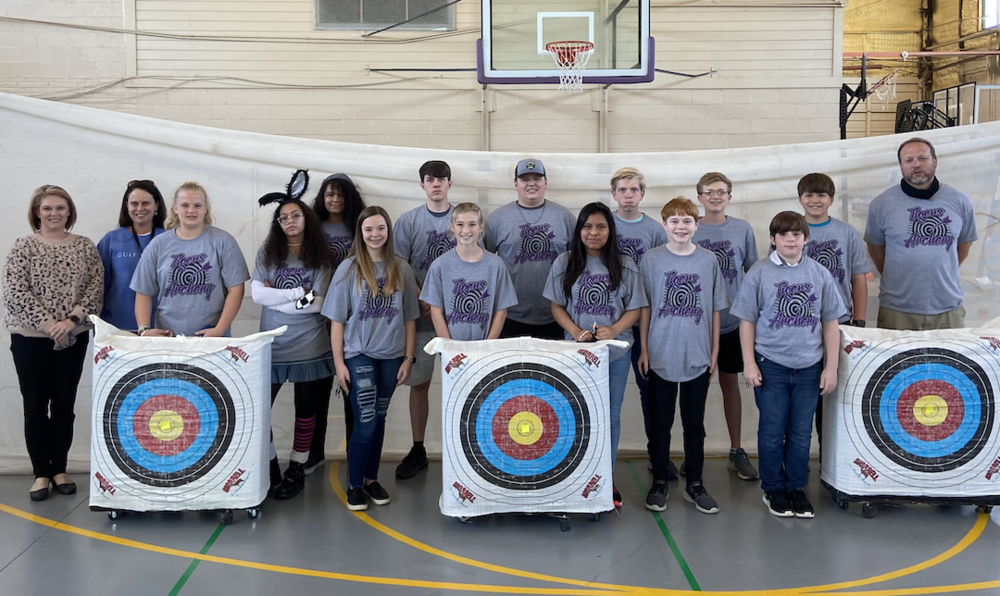 Tallassee City Schools' Archery in Competition