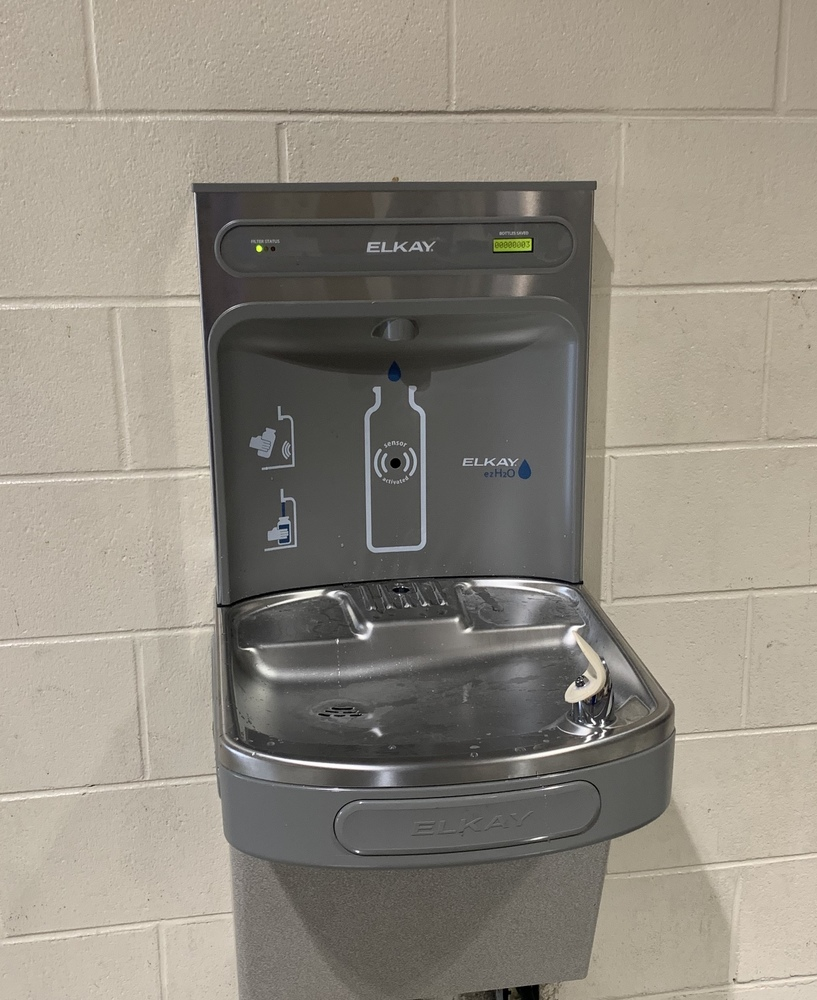 TCS installs New Bottle Fill Stations