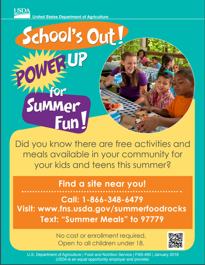 USDA Power Up for Summer Fun!