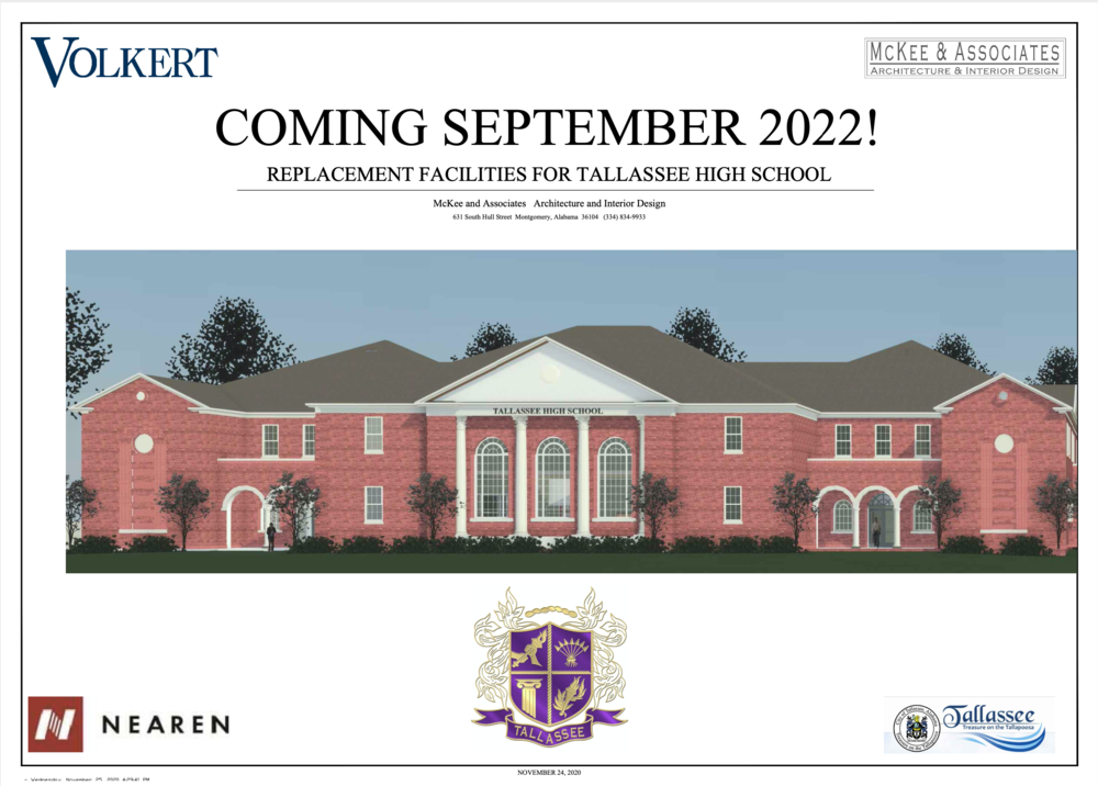 NEW Tallassee High School Renderings