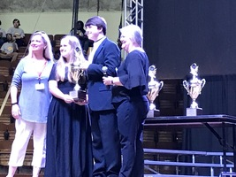 Choirs and Bands score Superior in all contests