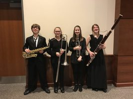 Students perform in All-District Band