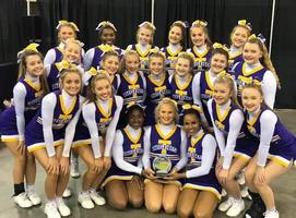 THS Cheerleaders win First Place!