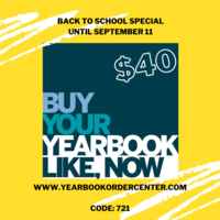 Yearbook Back to School Special
