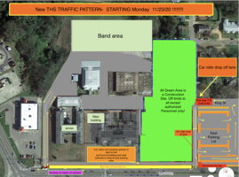 NEW TRAFFIC PATTERN FOR THS Starting  Nov 23!!!