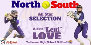 Lexi Love named to North South All Star Team