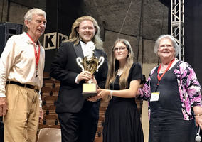 Choir earns first prize at competition