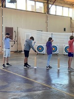TCS Kicks off a New Archery Team