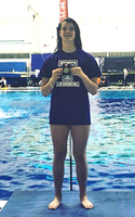Macey Stewart is a State Champion swimmer!