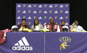 Sinclair Cole signs with Alabama A&M