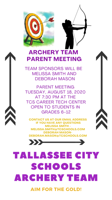 Archery Parent Meeting