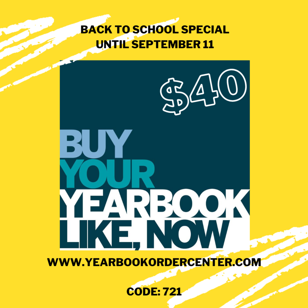Yearbook Back to School
