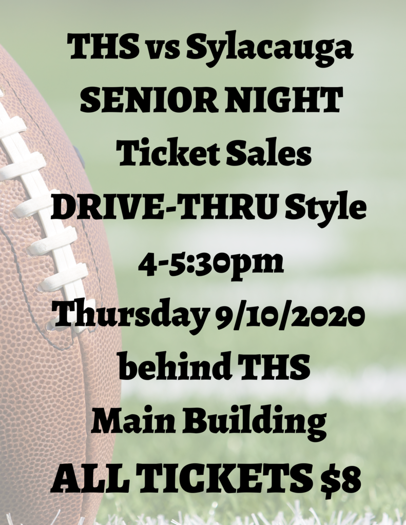 THS vs Sylacauga tickets